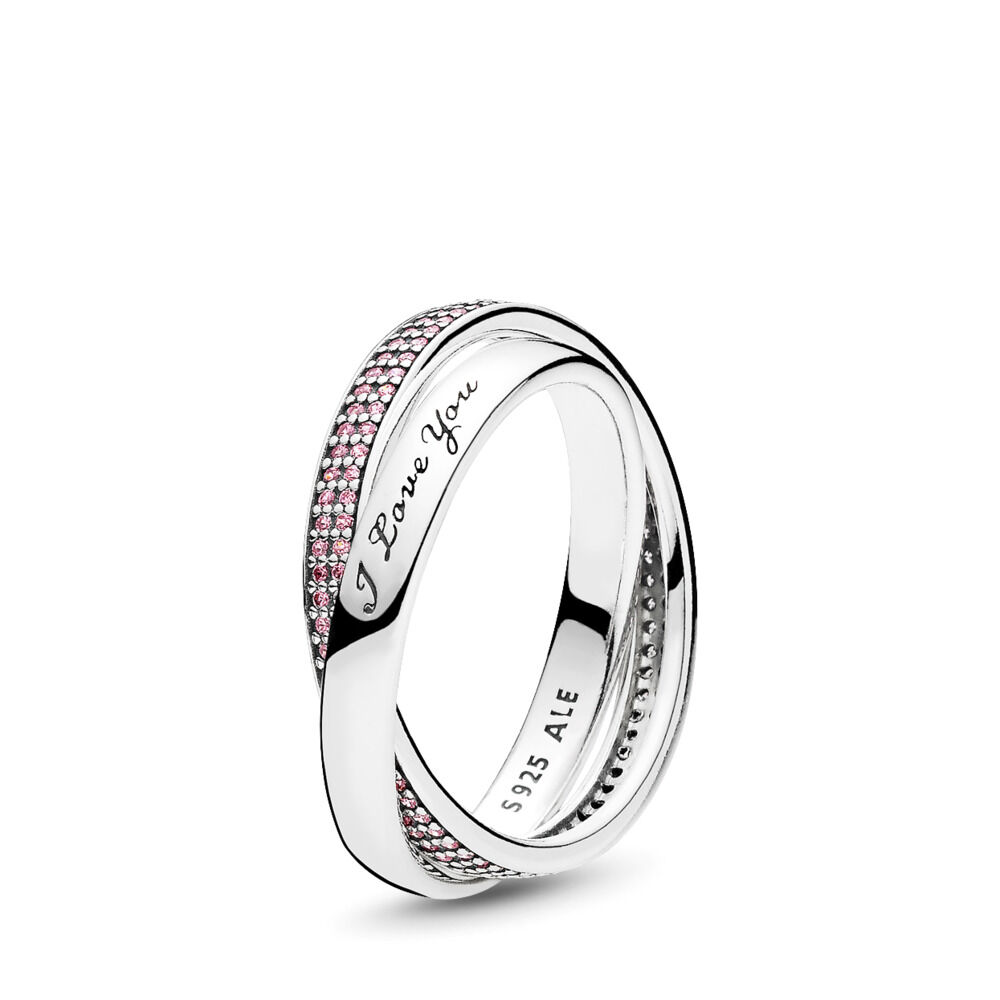 7d5dca60e Sweet Promise, Pink CZ, Sterling silver, Pink, Cubic Zirconia - PANDORA -