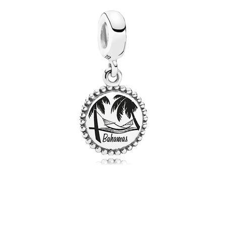 Bahamas, Argent sterling, Aucun autre matériel, Aucune couleur, Aucune pierre - PANDORA - #USB791169-G058