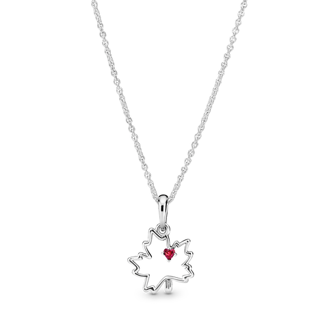 Maple Leaf Pendant Necklace
