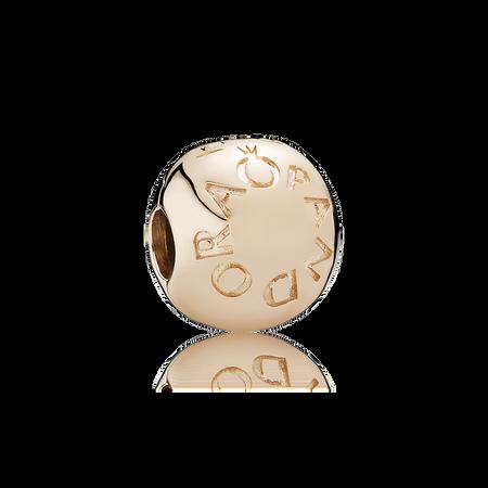 Loving PANDORA Logo Charm Clip, PANDORA Rose™