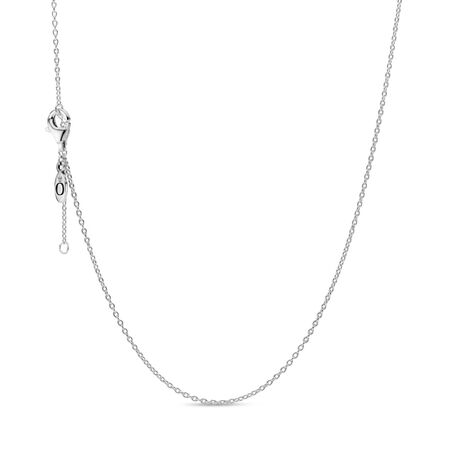 Necklace Chain, Sterling Silver, Sterling silver - PANDORA - #590515