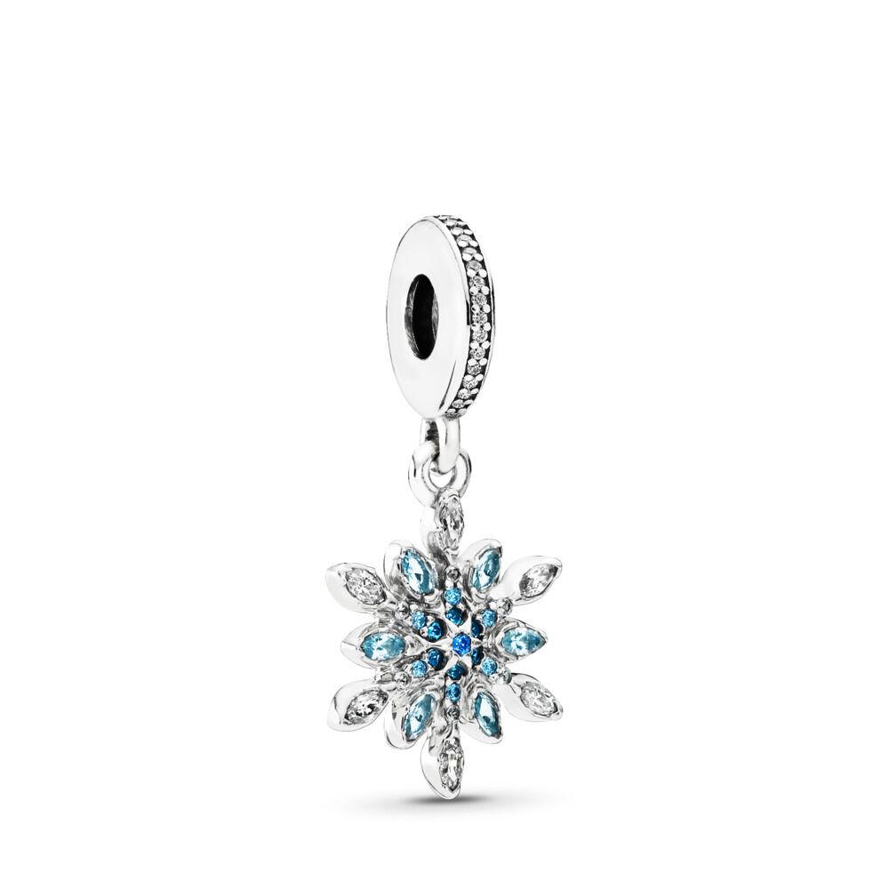 5f516db2a Crystalized Snowflake, Blue Crystals & Clear CZ