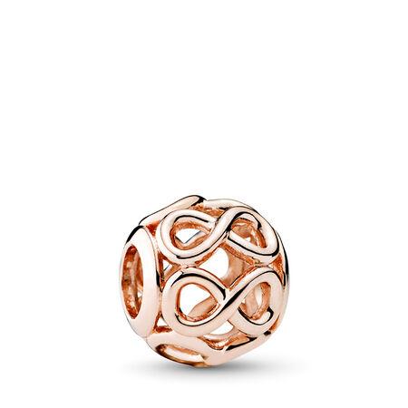 Infinie brillance, Rose, PANDORA ROSE, Aucun autre matériel, Aucune couleur, Aucune pierre - PANDORA - #781872