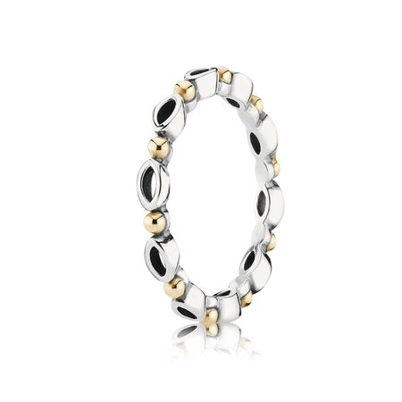 Always and Forever Ring, Two Tone - PANDORA - #190873
