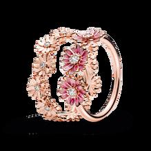 Pandora Rose Sparkling Daisy Ring Set