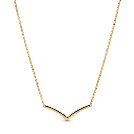 Shining Wish Necklace, PANDORA Shine™