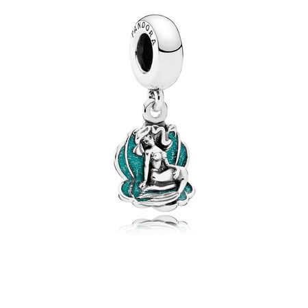 Disney, Ariel & Sea Shell, Seafoam Green Enamel