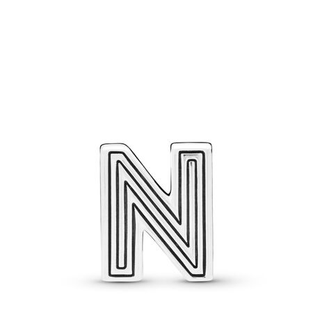Pandora Reflexions™ Letter N Charm