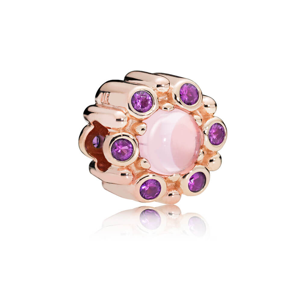 Heraldic Radiance Charm Pandora Rose Amp Pink Amp Purple