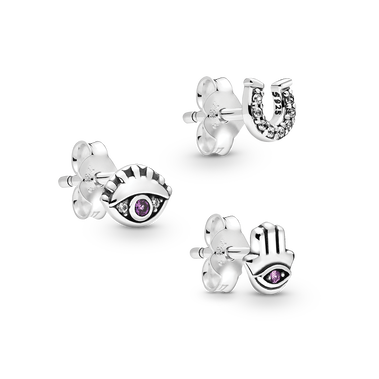 Pandora Me Lucky Trio Earring Set