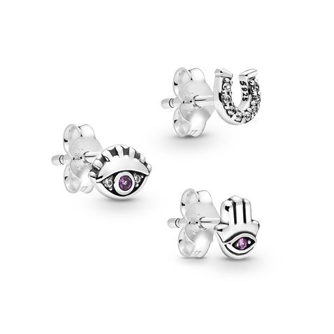 Pandora Me Lucky Trio Earring Set