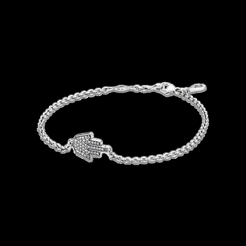 Symbol Of Protection Bracelet Clear Cz Pandora Jewellery Online Store