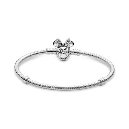 Disney, Bracelet de charms classique Portrait chatoyant de Minnie