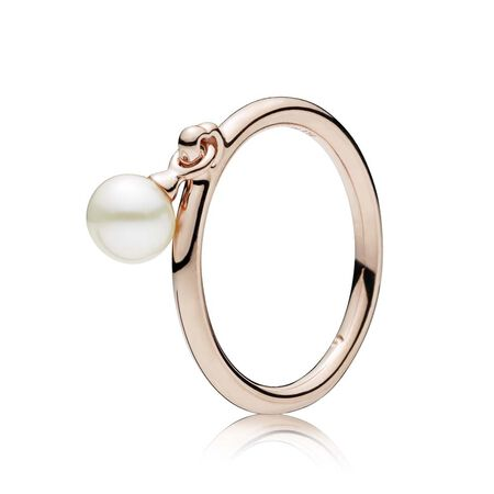 Contemporary Pearl Ring, PANDORA Rose™