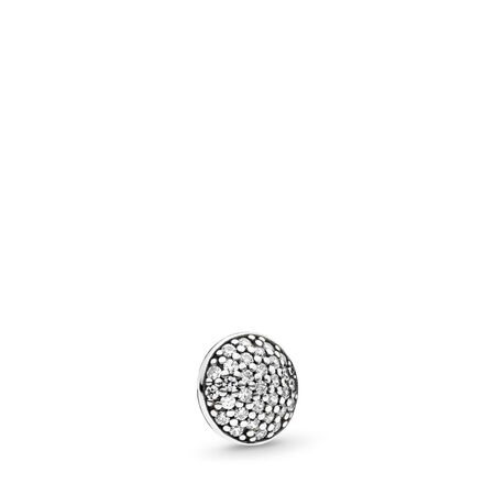 Dazzling Droplet Petite, Clear CZ, Sterling silver, Cubic Zirconia - PANDORA - #792177CZ