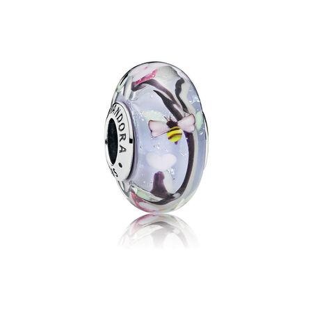 Enchanted Garden Murano Glass Charm