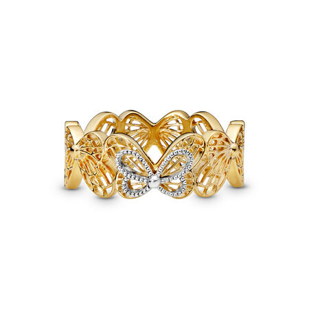 Limited Edition Openwork Butterflies Ring