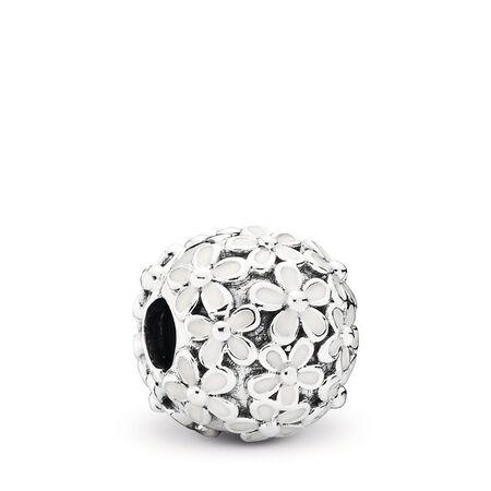 Champ de charmantes marguerites, émail blanc, Argent sterling, émail, Aucune couleur, Aucune pierre - PANDORA - #791494EN12