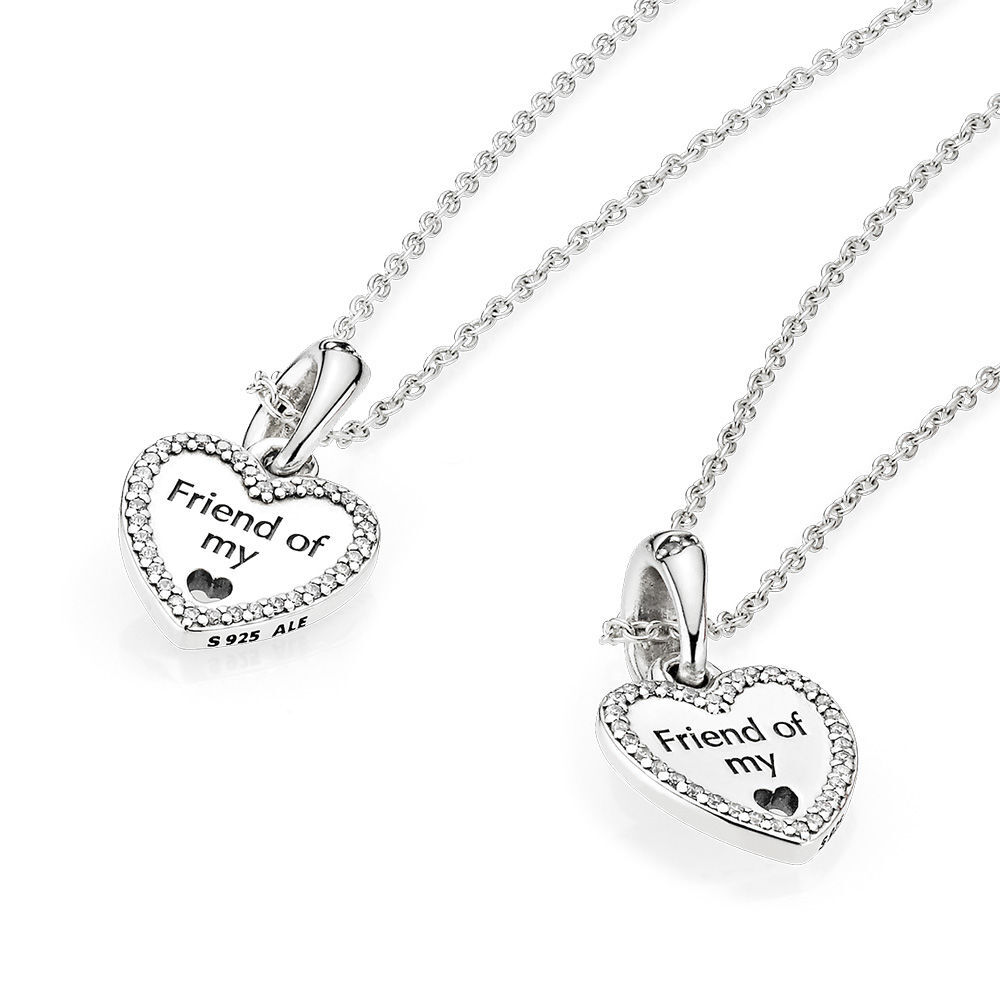 56f37b5f198 Best Friends Forever Necklace Set