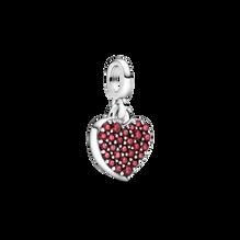 Mini charm-pendentif Amour Pandora ME