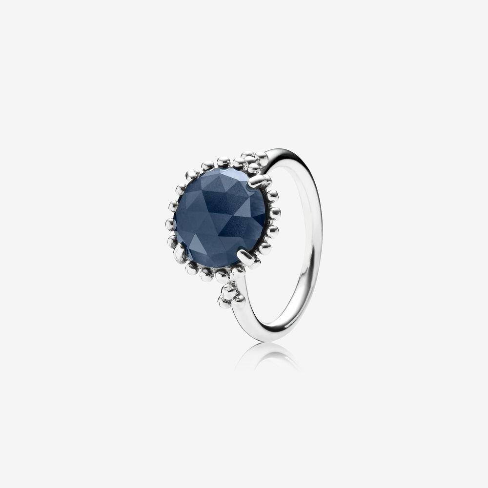charm pandora bleu nuit