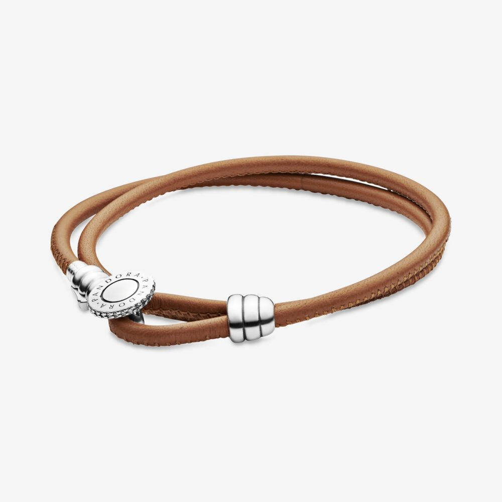 bracelet pandora cuir