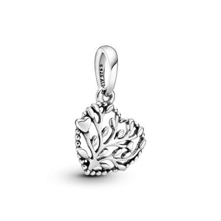 Charm pendentif Cœurs florissants