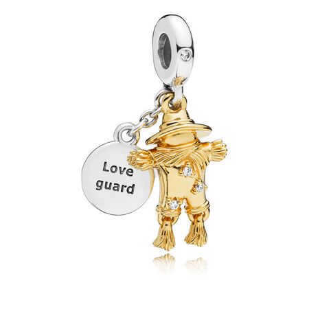 Scarecrow Guardian Charm, PANDORA Shine™ & Clear CZ