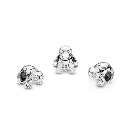 Charm Tortue aux yeux clairs