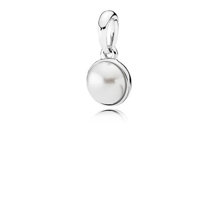 Luminous Droplet, White Crystal Pearl