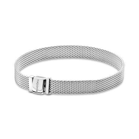 Bracelet PANDORA Reflexions, Argent sterling, Aucun autre matériel, Aucune couleur, Aucune pierre - PANDORA - #597712