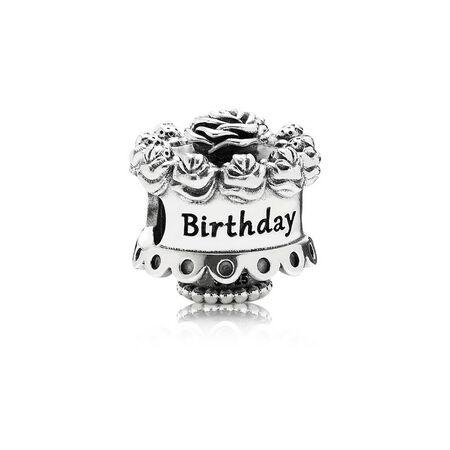Happy Birthday Silver Charm