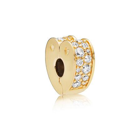 Sparkling Arcs of Love Clip, PANDORA Shine™ & Clear CZ
