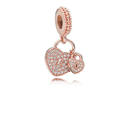 Love Locks, PANDORA Rose™ & Clear CZ