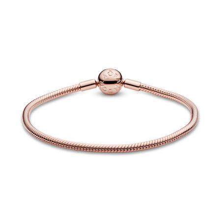 Bracelet-chaînette mille-maillons Moments, PANDORA ROSE, Aucun autre matériel, Aucune couleur, Aucune pierre - PANDORA - #580728