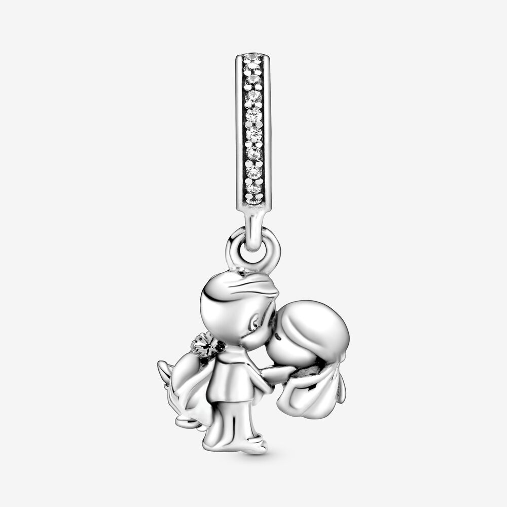 Married Couple Dangle Charm | Sterling silver | Pandora Canada