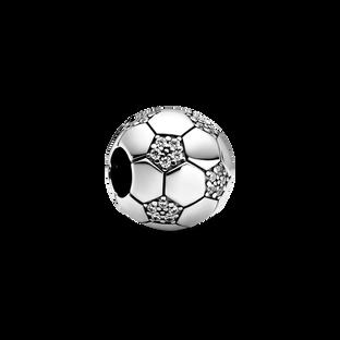 Sparkling Soccer Charm