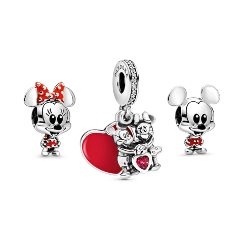 Disney's Mickey Mouse & Minnie Mouse Charm Set