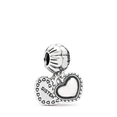 My Special Sister, Two-Part, Sterling silver - PANDORA - #791383
