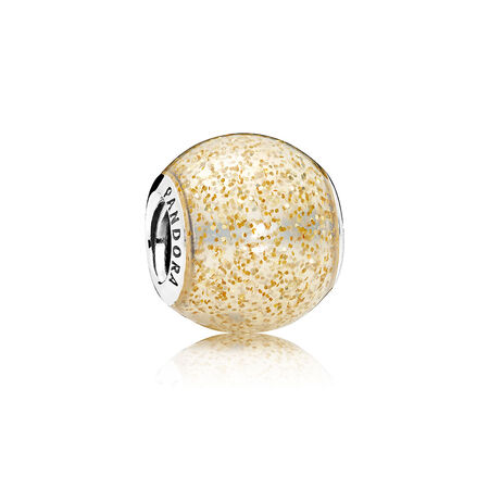 Glitter Ball, Golden Glitter Enamel