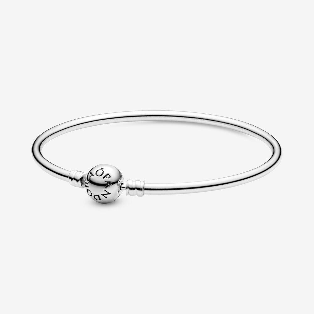 bracelet argent rigide solde