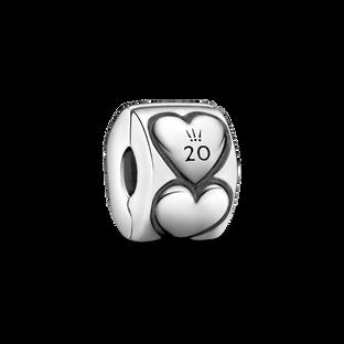 Clip Cœur 2020 de Pandora en édition limitée