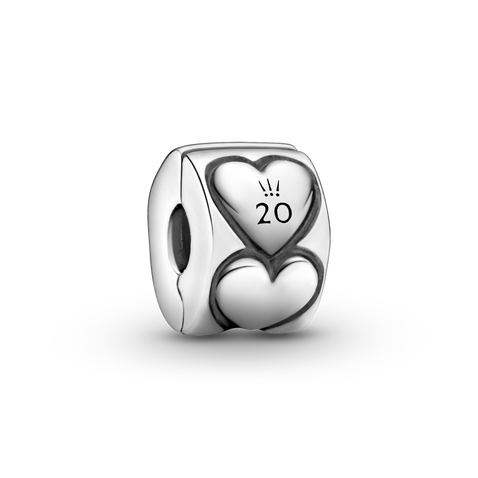 Pandora 2020 Limited Edition Hearts Clip Charm