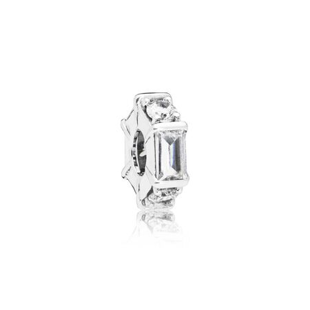 Ice Sculpture Clear Cz Spacer by Pandora
