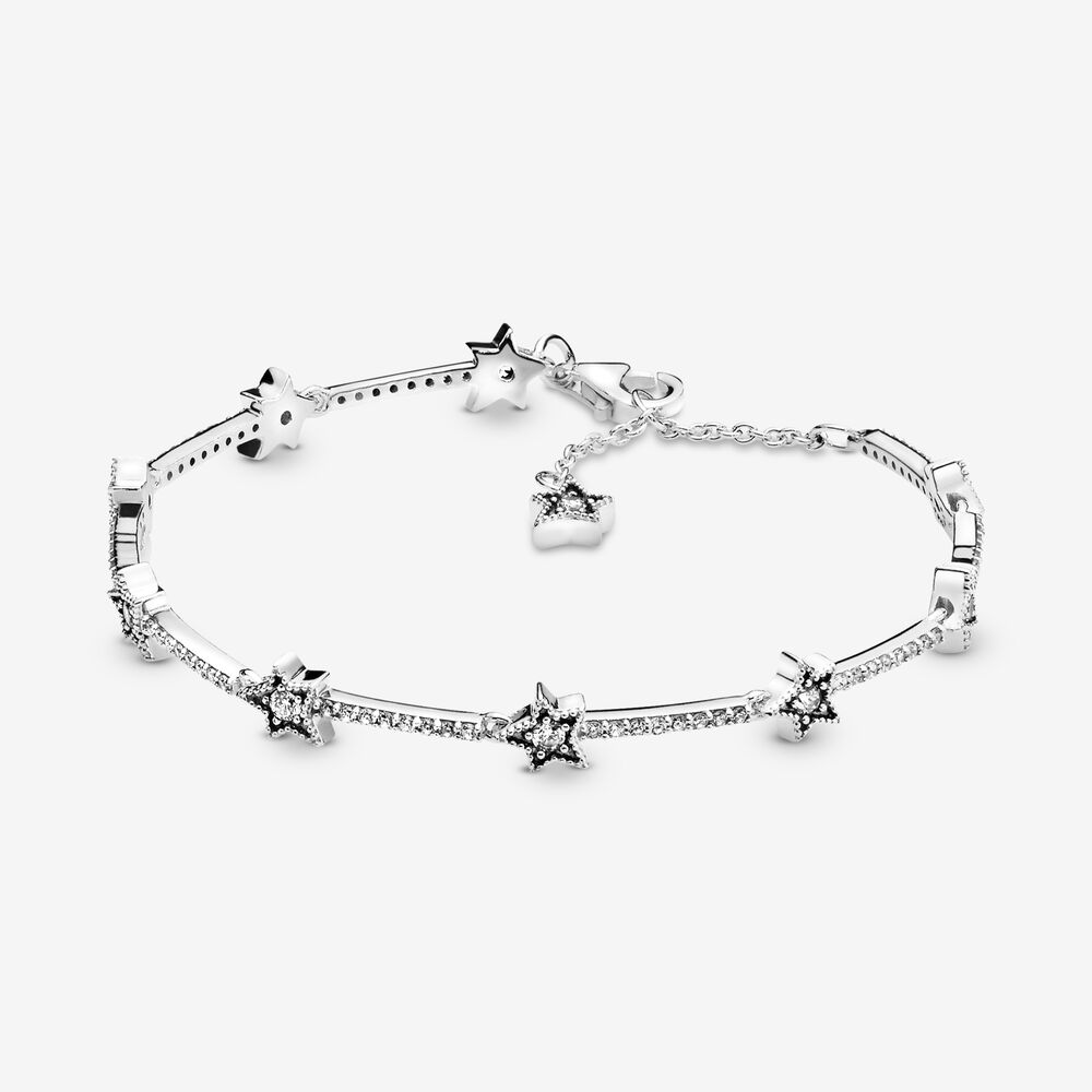 Celestial Stars Bracelet | Sterling silver | Pandora Canada