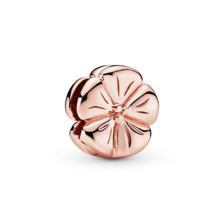 Charm Fleur classique Pandora Reflexions, PANDORA ROSE, Silicone, Aucune couleur, Aucune pierre - PANDORA - #787897