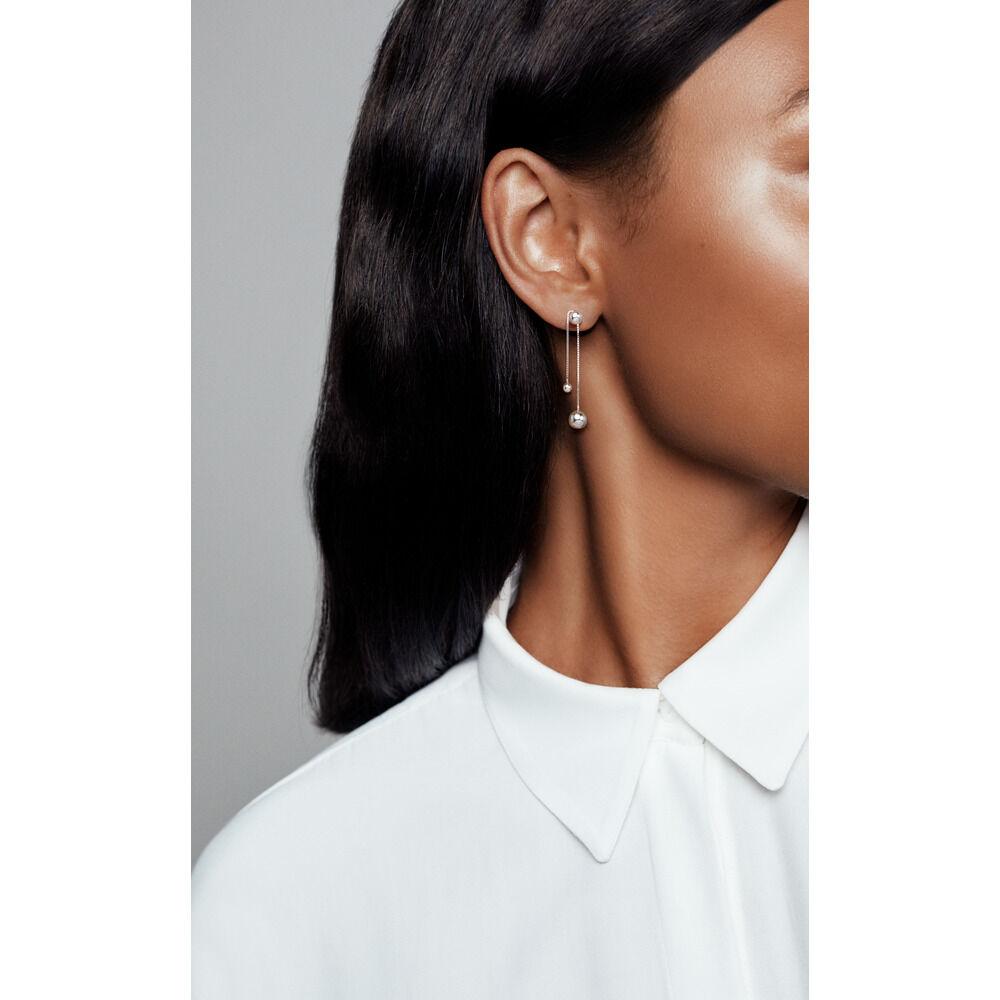 212d3076b7a86 String of Beads Dangle Earrings