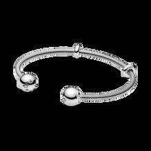 Bracelet rigide ouvert à chaîne serpentine PandoraMoments