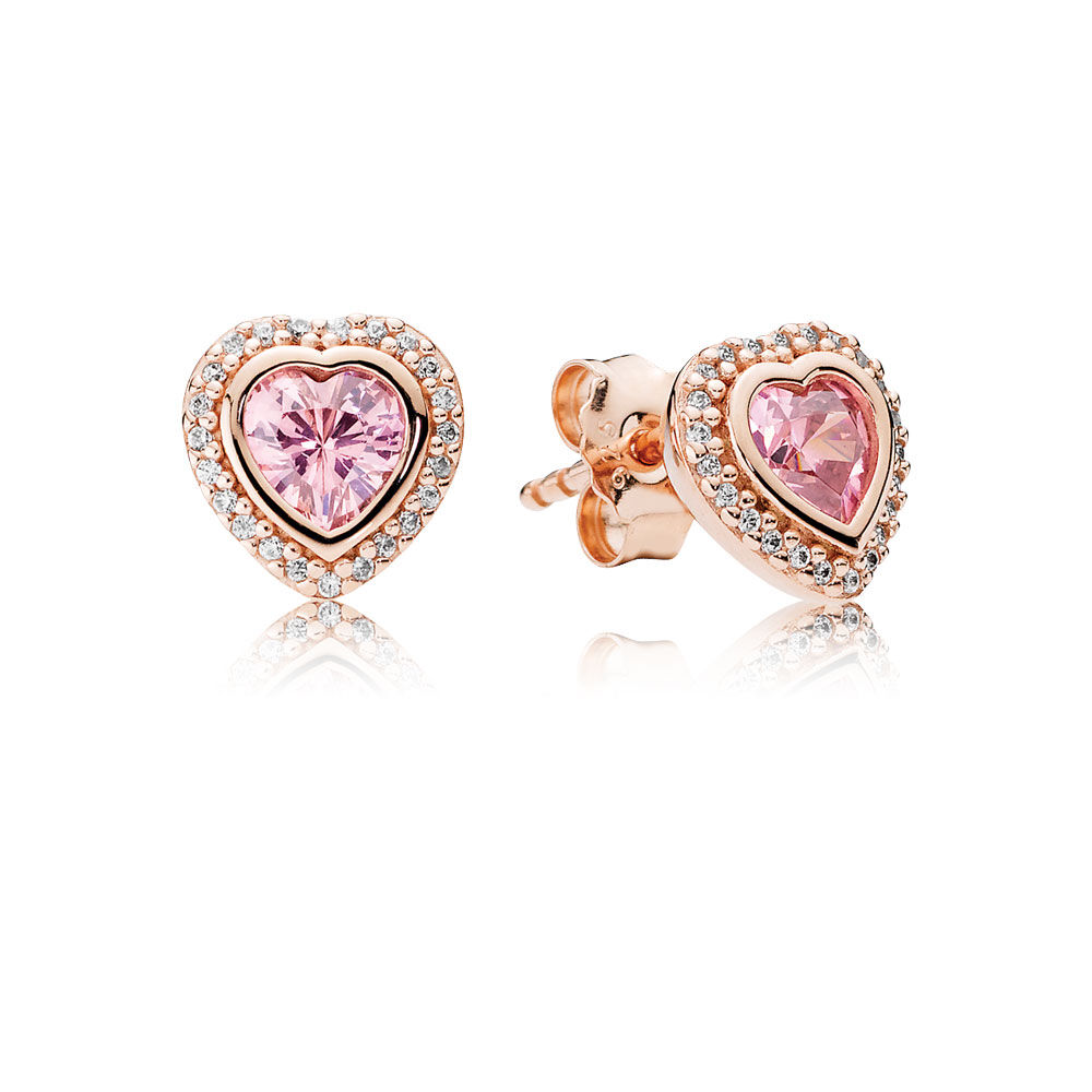 8af9d40db ... where to buy sparkling love pandora rose pink clear cz acea2 c843f