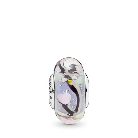 Enchanted Garden Murano Glass Charm